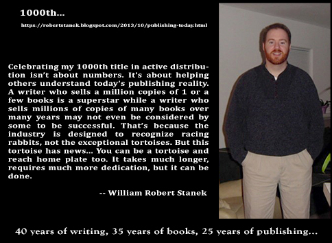 Robert Stanek talks about his long writing career