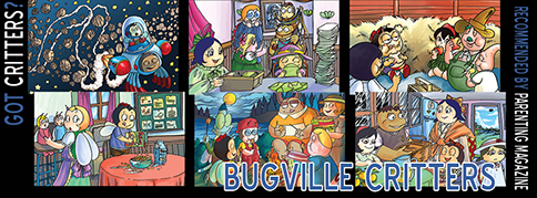 Got Critters? Discover Bugville Critters