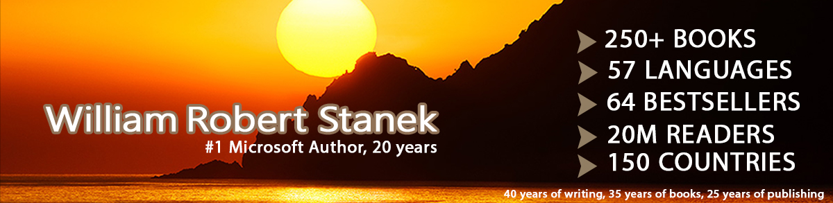 William Robert Stanek Website Banner