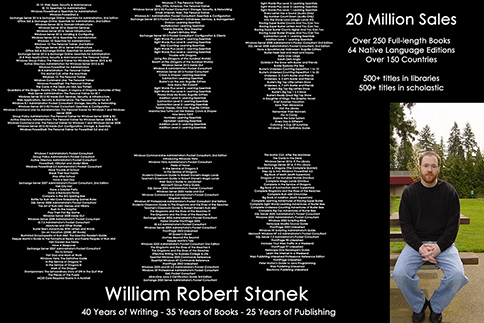 Career in pictures William Robert Stanek
